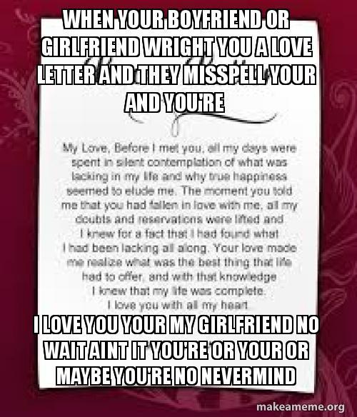 love letter generator for girlfriend