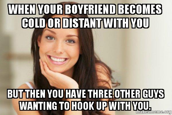 Hook up with girl who has boyfriend