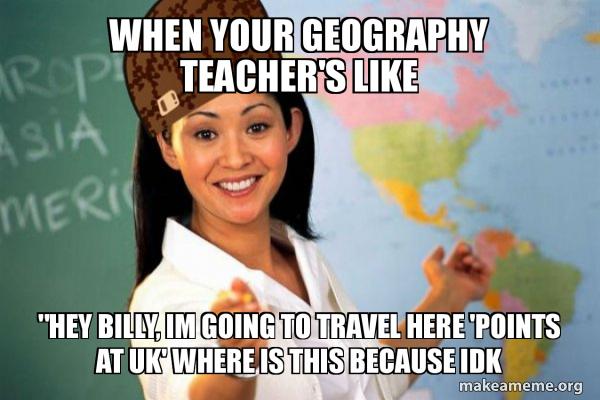 Scumbag Teacher meme