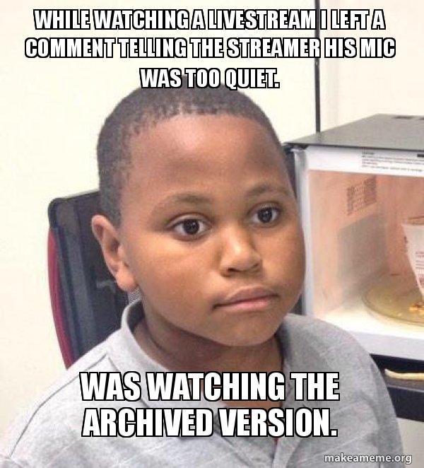I'm an idiot.