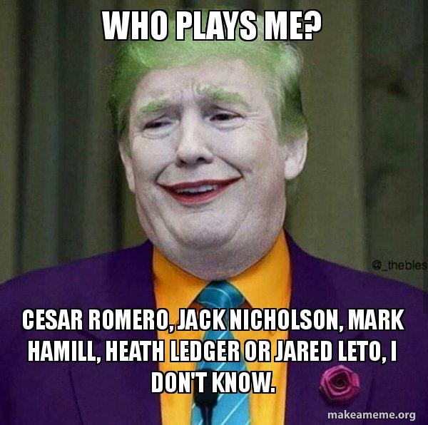 who plays me cesar romero jack nicholson mark hamill heath