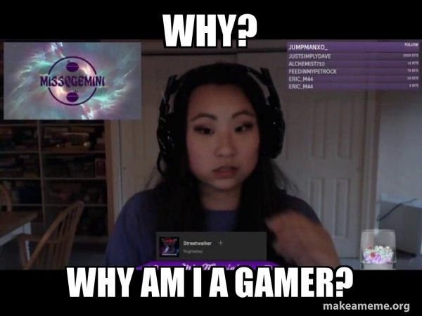 Clara Gaming Cheat - MissQGemini meme