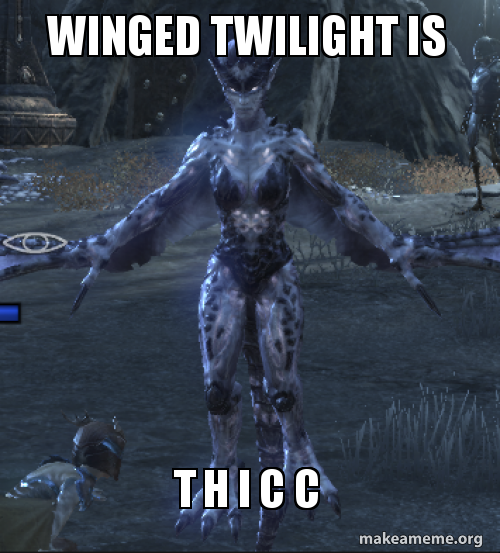 Winged Twilight Is T H I C C Make A Meme