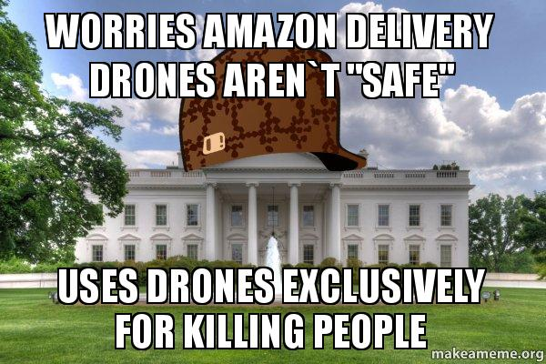 Worries Amazon Delivery Drones Arent Safe Uses