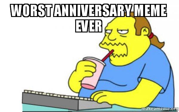 Anniversary meme related keywords suggestions