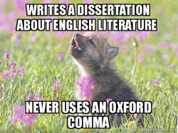 Dissertation English Literature