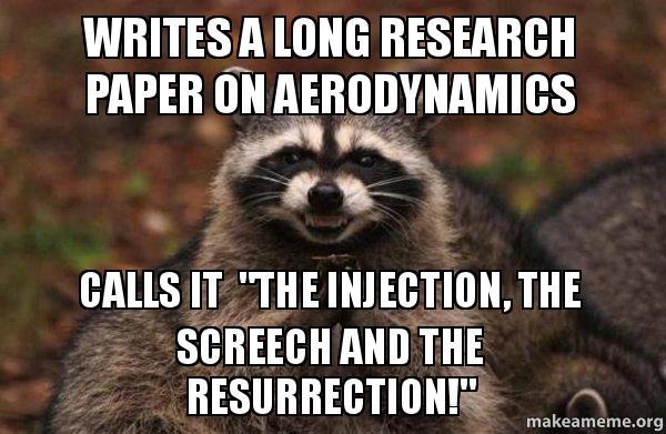 Aerodynamics research paper
