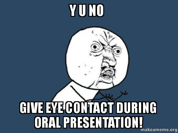 Give an Oral Report