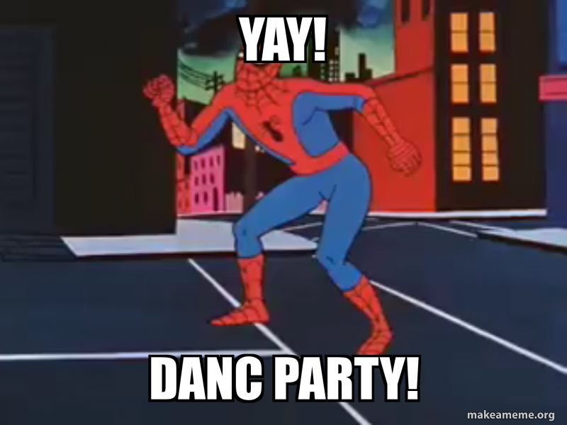 Yay Danc Party Make A Meme They are defined as any. make a meme org