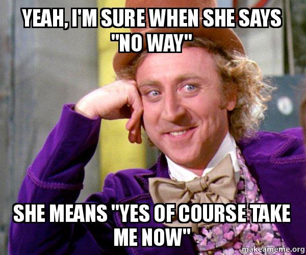 Wonka Sarcasm Meme