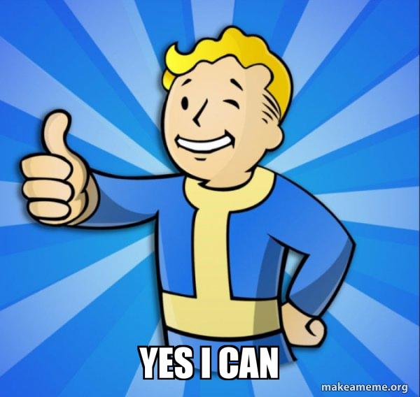 Vault Boy Fallout 4 game meme