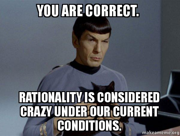 Spock and Cat Meme meme