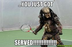 ...you just got served!!!!!!!!!!!!!! | Make a Meme