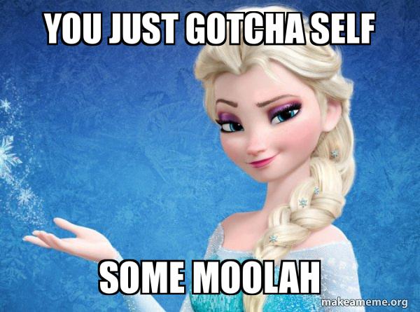 Elsa from Frozen meme