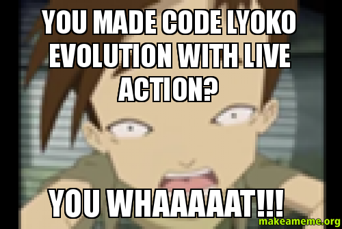 You Made Code Lyoko Evolution With Live Action You Whaaaaat