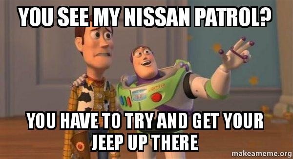 Nissan patrol memes