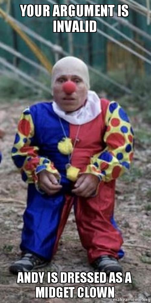 Scary Midget Clown 63