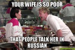 Your Russian Wife Is 83