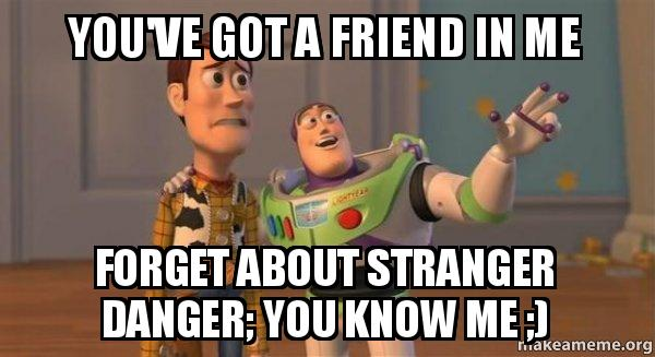 Buzz and Woody (Toy Story) Meme meme